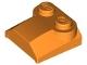 Part No: 41855  Name: Brick, Modified 2 x 2 x 2/3 Two Studs, Lip End
