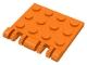 Part No: 44570  Name: Hinge Plate 3 x 4 Locking Dual 2 Finger