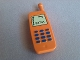 Part No: 51289pb01  Name: Duplo Utensil Telephone, Mobile with Keypad and Display Pattern