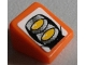Part No: 54200pb086  Name: Slope 30 1 x 1 x 2/3 with Headlights Pattern (Sticker) - Set 8863