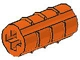 Part No: 6538  Name: Technic, Axle Connector 2L (Ridged Undetermined Type)