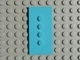Part No: 6934b  Name: Scala Tile 3 x 6 with 4 inline Top Studs