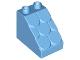 Part No: 15580  Name: Duplo, Brick 3 x 2 x 2 Slope Shingled