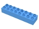 Part No: 4199  Name: Duplo, Brick 2 x 8