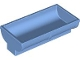 Part No: 4882  Name: Duplo Animal Accessory Feeding Trough 2 x 4 x 2 with Curved Sides