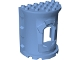 Part No: 52024  Name: Duplo Building Wall 4 x 6 x 6 Curved Turret - Castle