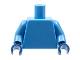 Lot ID: 128784543  Part No: 973c40  Name: Torso Plain / Medium Blue Arms / Dark Blue Hands