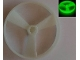 Part No: 50899c  Name: Bionicle Rhotuka Spinner, Solid Color - Without Code on Side