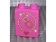 Part No: 4066pb378  Name: Duplo, Brick 1 x 2 x 2 with Necklace and Ring Pattern (Sticker) - Set 4820