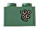 Part No: 3003pb098  Name: Brick 2 x 2 with Battle Of Atlantis Pattern #2 (Sticker) - Set 76085