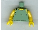 Part No: 973px320c01  Name: Torso SW Tank Top Pattern / Yellow Arms / Yellow Hands