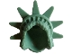 Part No: 98377  Name: Minifig, Headgear Hair Female with Spiked Tiara (Lady Liberty)