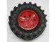 Part No: 15038c05  Name: Wheel 56mm D. x 34mm Technic Racing Medium, 6 Pin Holes with Black Tire 107 x 44R (15038 / 23798)