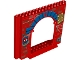 Part No: 15626pb04  Name: Panel 4 x 16 x 10 with Spider-Man Pattern