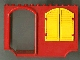 Part No: 2047c01  Name: Fabuland Bus Piece with Yellow Shutters
