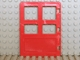 Part No: 2205  Name: Duplo Door 1 x 4 x 4 with Four Panes