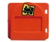 Part No: 2230pb01c01  Name: Duplo Door / Window Mailbox Raised with Train Ticket Pattern with Flap