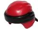 Part No: 24496pb16  Name: Minifigure, Headgear Ninjago Wrap Type 3 with Black Bandana and Knot Pattern