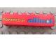 Part No: 2456pb009  Name: Brick 2 x 6 with 'POWERED BY allinol' Pattern (Sticker) - Set 8484