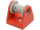 Part No: 2584c002  Name: String Reel 2 x 2 Holder with Light Gray String Reel 2 x 2 Drum (2584 / 2585)