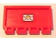 Part No: 2873pb12  Name: Hinge Train Gate 2 x 4 with Mail Envelope Pattern (Sticker) - Set 4564