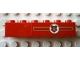 Part No: 3009pb108R  Name: Brick 1 x 6 with Hogwarts Coat of Arms Pattern Right of Center for Model Left Side (Sticker) - Set 10132