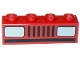 Part No: 3010p08  Name: Brick 1 x 4 with Car Headlights Pattern (Basic)