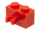 Part No: 30237  Name: Brick, Modified 1 x 2 with Vertical Clip