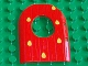 Part No: 31067pb01  Name: Duplo Door 1 x 4 x 4 2/3 Cave with Dewdrops Pattern