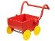 Part No: 31320c01  Name: Duplo Doll Pram (Baby Carriage, Stroller) Base