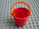 Part No: 33178c02  Name: Scala Utensil Bucket Round with Orange Handle