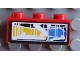 Part No: 3622pb012  Name: Brick 1 x 3 with Front Headlight Right Pattern (Sticker) - Set 8280