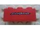 Part No: 3622pb062  Name: Brick 1 x 3 with White 'pininfarina' Pattern (Sticker) - Set 8652