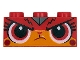 Part No: 3622pb105  Name: Brick 1 x 3 with Cat Face Frowning Pattern (Warrior Kitty)