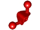 Part No: 41670  Name: Bionicle Ball Joint 4 x 4 x 2 90 Degree with 2 Ball Joints and Axle Hole