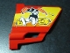 Part No: 44352pb04  Name: Technic, Panel Fairing #22 Large Short, Small Hole, Side A with Nitro Mascot and N2O Bottles Pattern (Sticker) - Set 8146