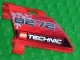 Part No: 44353pb01  Name: Technic, Panel Fairing #23 Large Short, Small Hole, Side B with '8272', Snowflake and Technic Logo Pattern (Sticker) - Set 8272