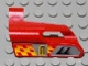Part No: 47712pb03  Name: Technic, Panel Fairing #24 Small Short, Small Hole, Side B with Number 3, Air Vents and Orange Checkered Racing Pattern (Sticker) - Set 8650