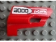 Part No: 47713pb05  Name: Technic, Panel Fairing #25 Small Short, Small Hole, Side A with '3000 MSX' Pattern (Sticker) - Set 8682