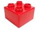 Part No: 48138  Name: Quatro Brick 2 x 2