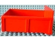 Part No: 4821ac01  Name: Duplo Trailer Bed with 8 Studs without Back Sill with Hatch