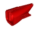 Part No: 54701c04  Name: Aircraft Fuselage Curved Aft Section with Red Base