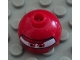 Part No: 553pb011  Name: Brick, Round 2 x 2 Dome Top with Eyes Round and F1 Helmet Pattern (Francesco)