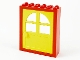 Part No: 6235c02  Name: Door Frame 2 x 6 x 6 Freestyle with Yellow Door 1 x 6 x 6 Freestyle (600)