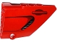 Part No: 64680pb003  Name: Technic, Panel Fairing #14 Large Short Smooth, Side B with Air Intake and Door Handle Pattern (Sticker) - Set 8070