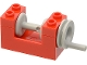 Part No: 73037  Name: String Reel Winch 2 x 4 x 2 (Light Gray Drum)