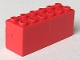 Part No: 73090b  Name: Brick, Modified 2 x 6 x 2 Weight - Bottom Sealed, Dimple on Ends