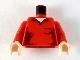 Part No: 973pb0481c01  Name: Torso Speed Racer Open Collar, Pocket Pattern / Red Arms / Light Flesh Hands