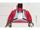 Part No: 973ps1c02  Name: Torso SW Rebel Pilot Pattern / Red Arms / Black Hands