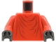 Part No: 973px70c02  Name: Torso SW Imperial Robe with Dark Red Creases Pattern (Royal Guard) / Red Arms / Black Hands